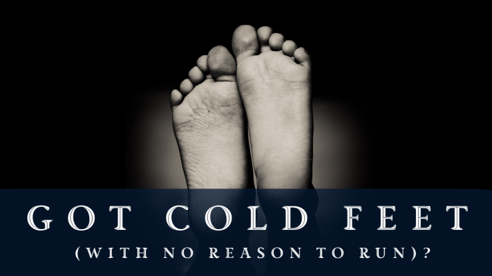 Cold feet from circulatory issues